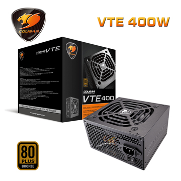 COUGAR  VTE 400 (80Plus銅牌) 1