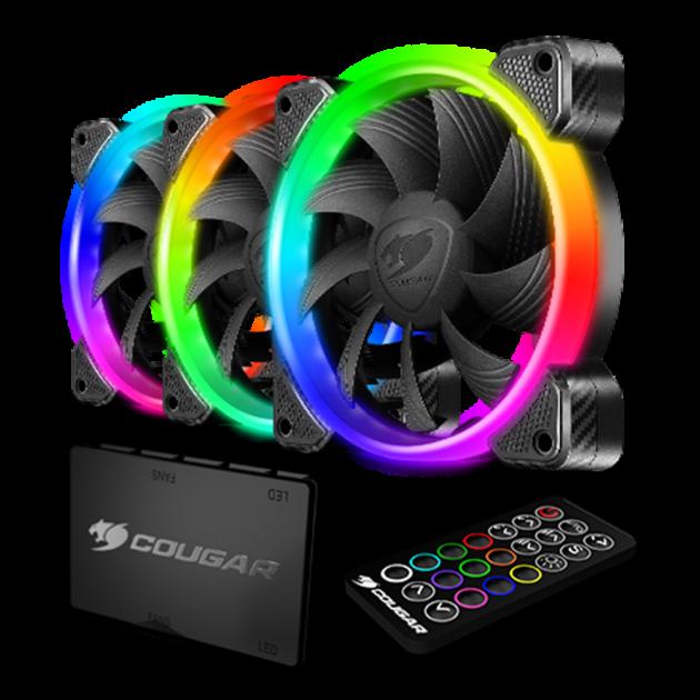 COUGAR VORTEX RGB HPB 120 (風扇組) 1